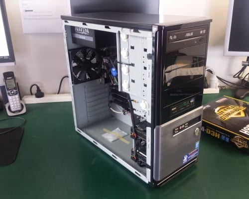 Custom build desktop PC. After.